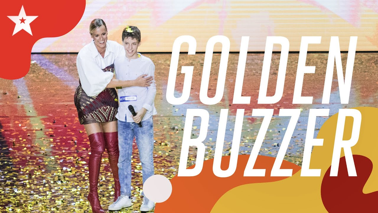 Golden Buzzer Boy