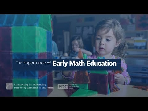 The Importance of Early Math Education