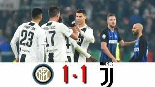 Inter Milan 1 - 1 Juventus