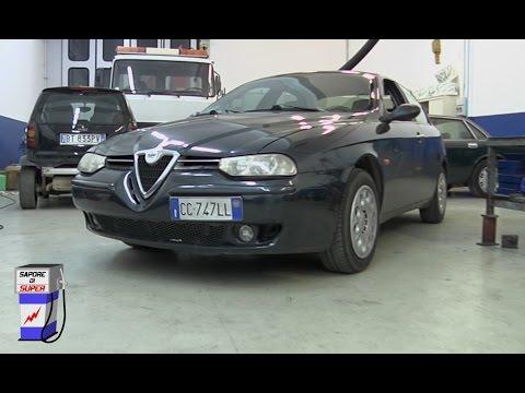 Sapore di Super - L'Alfa 156 JTD a metano guidata da Mauro Casciari