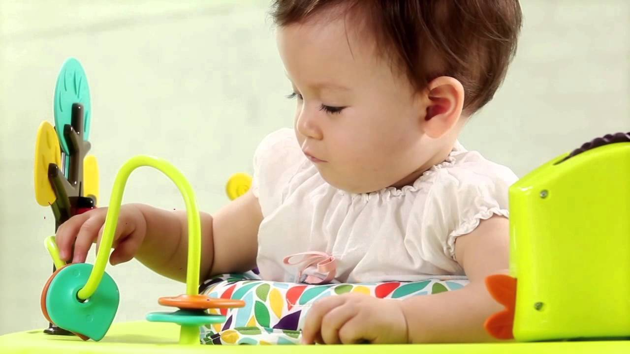 1c353a650 Oribel PortaPlay Baby Activity Center - YouTube