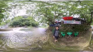 청도 용바우민박앞 계곡-360vr