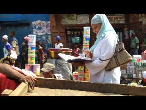 Freetown Sierra Leone Street Scene