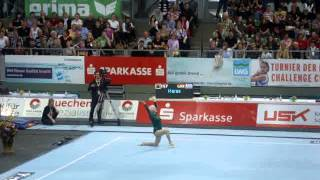 "86-year old Johanna Quaas demonstration on FX - ""Turnier Der Meister"" Cottbus 2012"