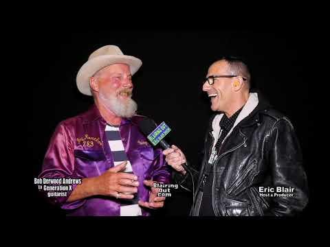 Generation X guitarist Bob Derwood Andrews & Eric Blair talk Music 2019