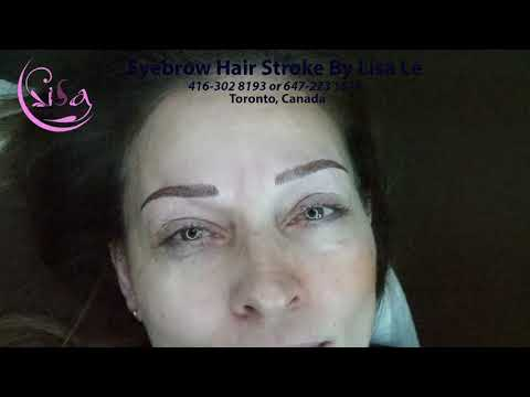 natural beauty 3D  brows by Lisa Le