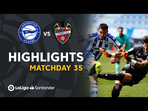 Alaves Levante Goals And Highlights
