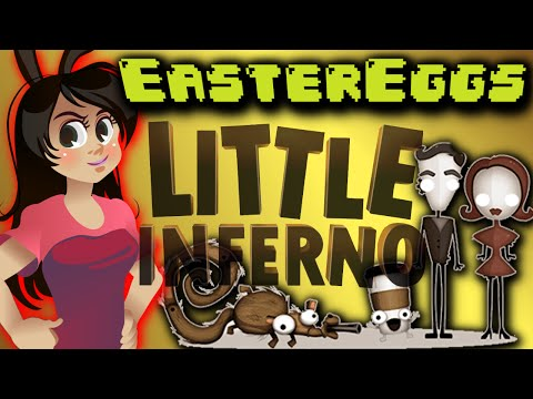 EASTER EGGS - Little Inferno: Secret Ending, Special Items, All Combos Reward