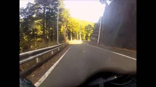 山梨県福士川渓谷 ツーリング
