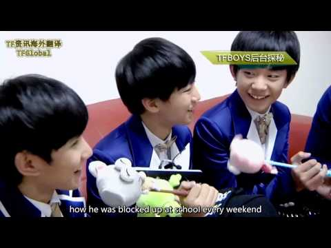 【TFGlobal】TFBOYS 第二届音悦V榜后台采访 Backstage Interview of 2nd V-Chart Awards Eng sub