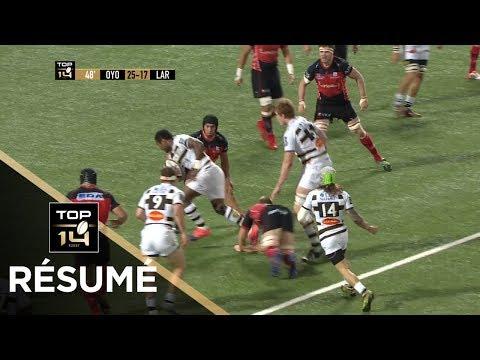 TOP 14 - Résumé Oyonnax-La Rochelle: 38-38 - J15 - Saison 2017/2018