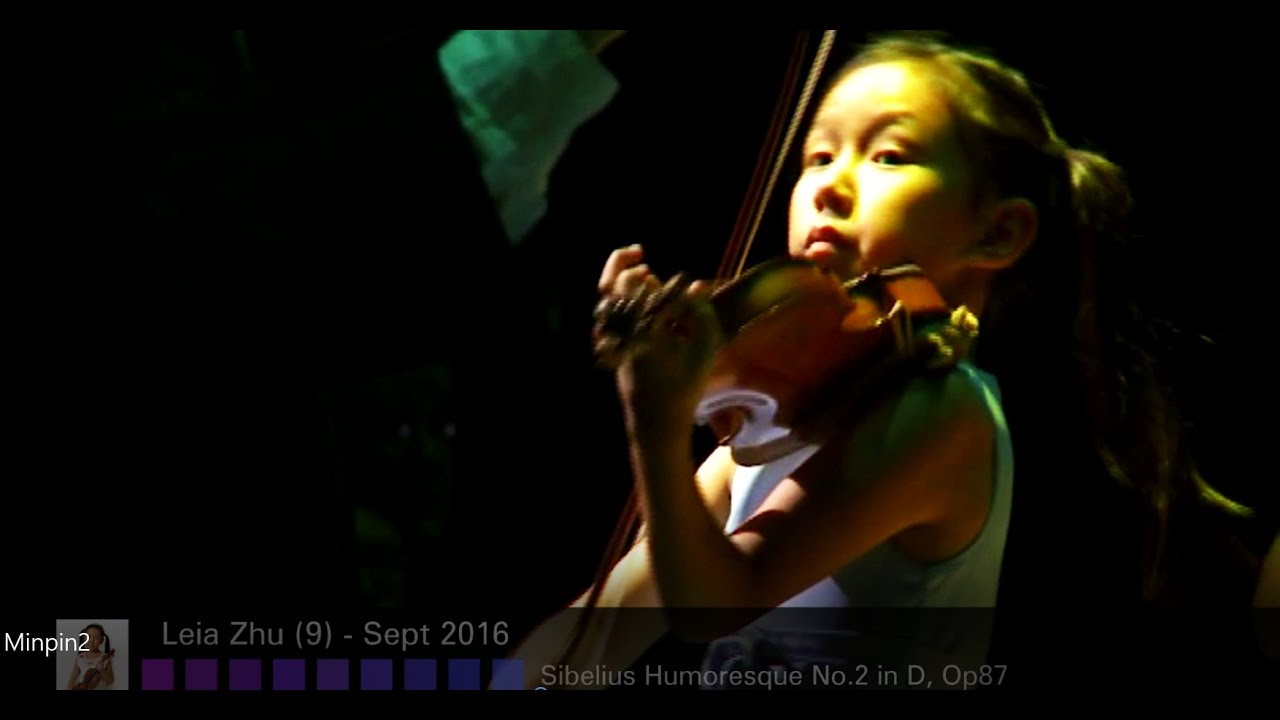 9-year-old Violinist Leia Zhu Barbican Debut