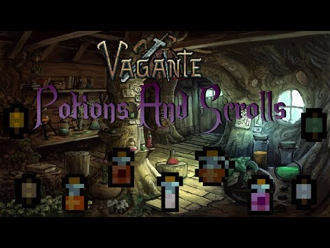 Vagante How To: Potions & Scrolls