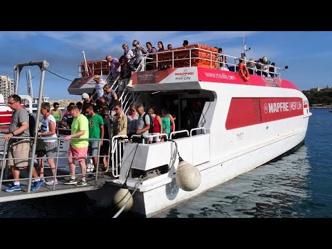 Sliema to Valletta Ferry, Malta