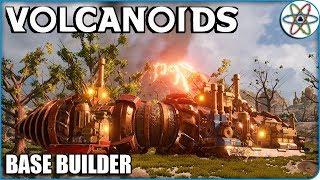 Vulcões, Brocas e Erupções! | Volcanoids Ep 01 - Gameplay PT BR