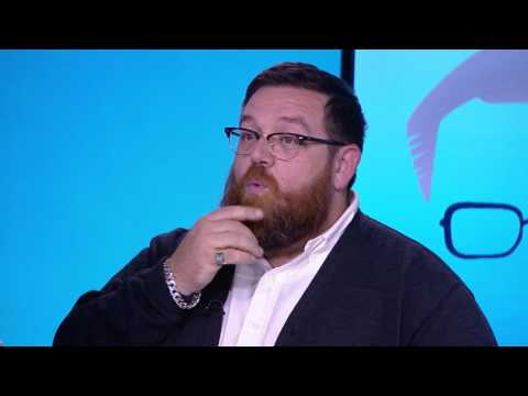 Nick Frost On Simon Pegg Friendship, New Snow White Film 'The Huntsman,' Donald Trump and Writing