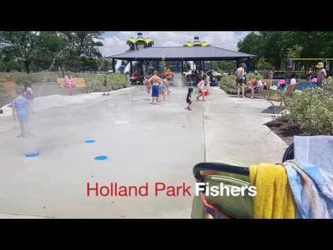 Roy G  Holland Park Splash Pad Fishers Indiana