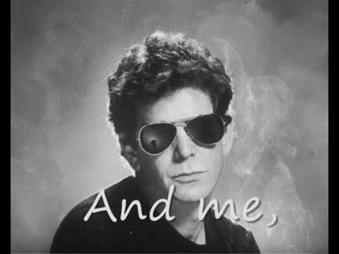 Lou Reed - Men of good fortune (lyrics on clip)