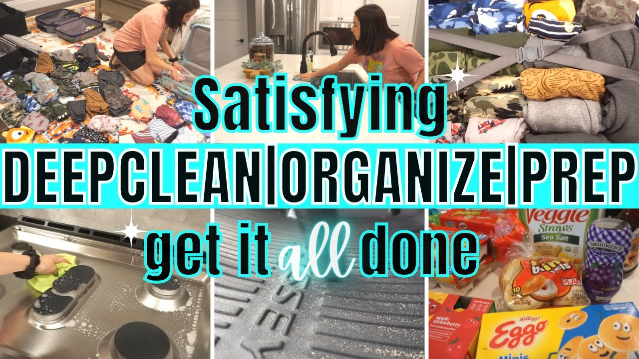 *SATISFYING* EXTREME CLEAN WITH ME | ALL DAY CLEANING MOTIVATION | GET IT ALL DONE!