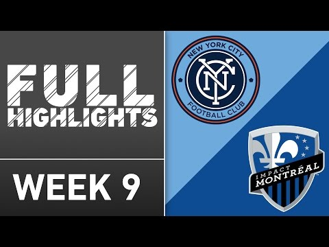 HIGHLIGHTS: New York City FC vs Montreal Impact | April 27, 2016