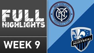 Video Gol Pertandingan New York City FC vs Montreal Impact