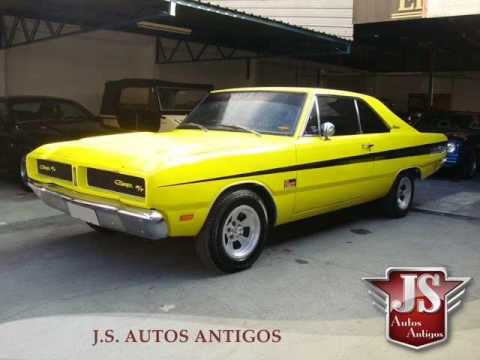 Dodge Charger Rt 1978 Amarelo Youtube