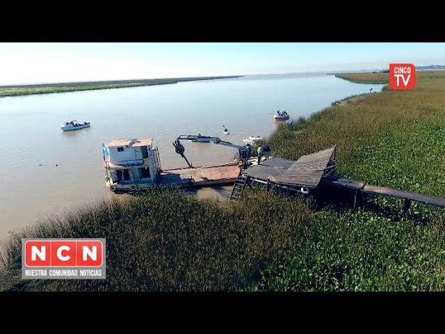CINCO TV - El Municipio de Tigre avanza con los operativos en la zona más protegida del Delta