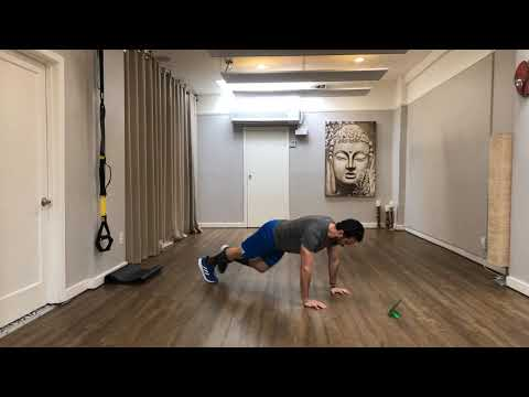 TRX at Home l Total-Body Conditioning with Coach Louis