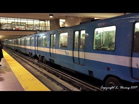 [60fps] Montreal Metro: MR63 (Nov. 2017)
