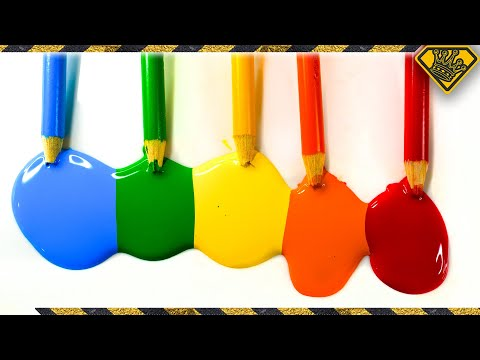 Can You Turn Colored Pencils Into Paint?