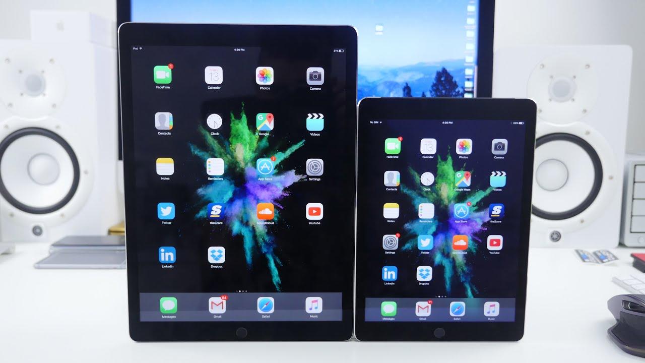 iPad Pro vs iPad Air 2 SPEED TEST and COMPARISON - YouTube