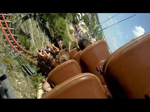 Iron Rattler Back Seat Pivothead POV Six Flags Fiesta Texas