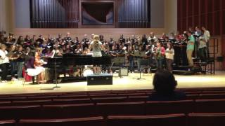 Choral Music Experience Ithaca 2016 - El Pambiche Lento