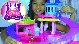 Disney Princess Little Kingdom Glitter Glider Castle Playset With Cinderella - Kids' Toys