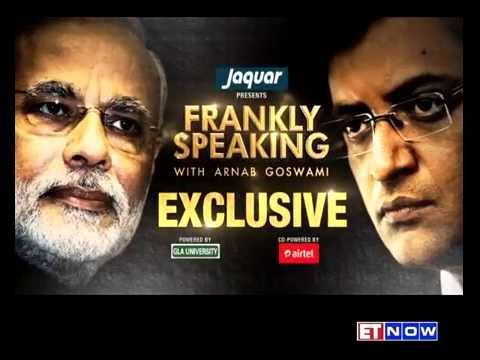 PM Narendra Modi Speaks To Arnab Goswami