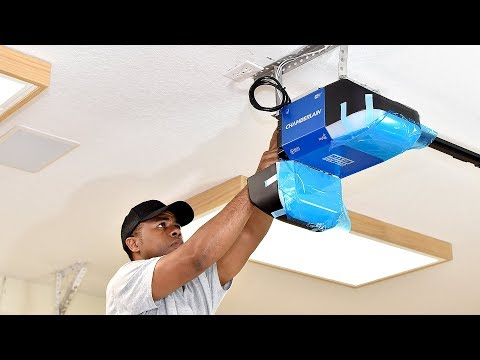 3 DIY Garage Door Upgrades | Adding insulation, Replacing Opener and Weather Strip (in one day)