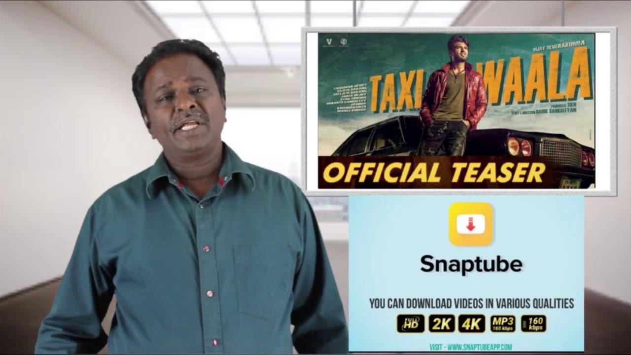 Taxiwala Telugu Movie Review - Vijay Devarkonda - Tamil Talkies