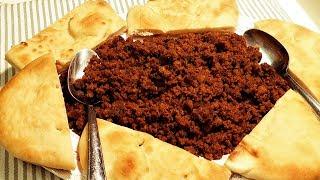 How to make Teff Flat Bread Ferfer ❗ የጤፍ ጥፍጥፍ ዳቦ ፍርፍር