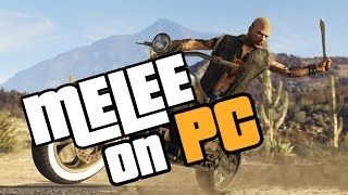 How to melee on bikes | GTA 5 PC