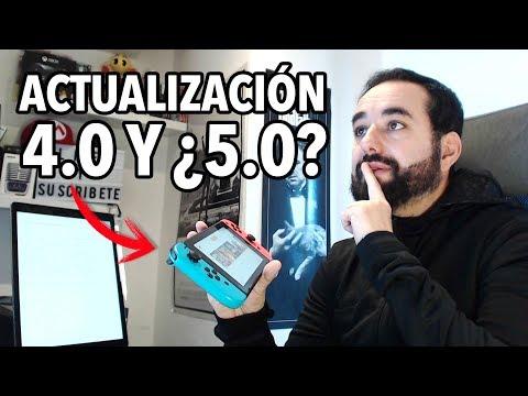 Analizando la Actualización de Nintendo Switch 4.0  ¿es suficiente? Para Cuándo saldrá la 5.0
