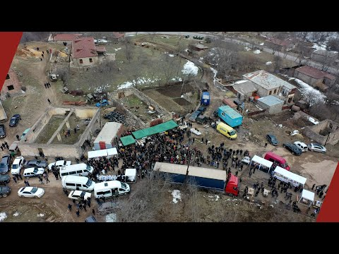 Shurnukh's Armenians Raise A 30-meter Flagpole In The Face Of The Azerbaijani Army