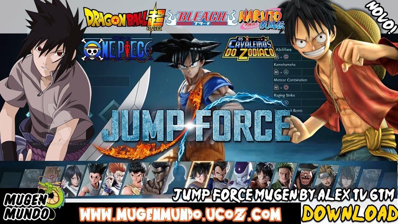 One Piece X Naruto Mugen 2 – Fondos de Pantalla