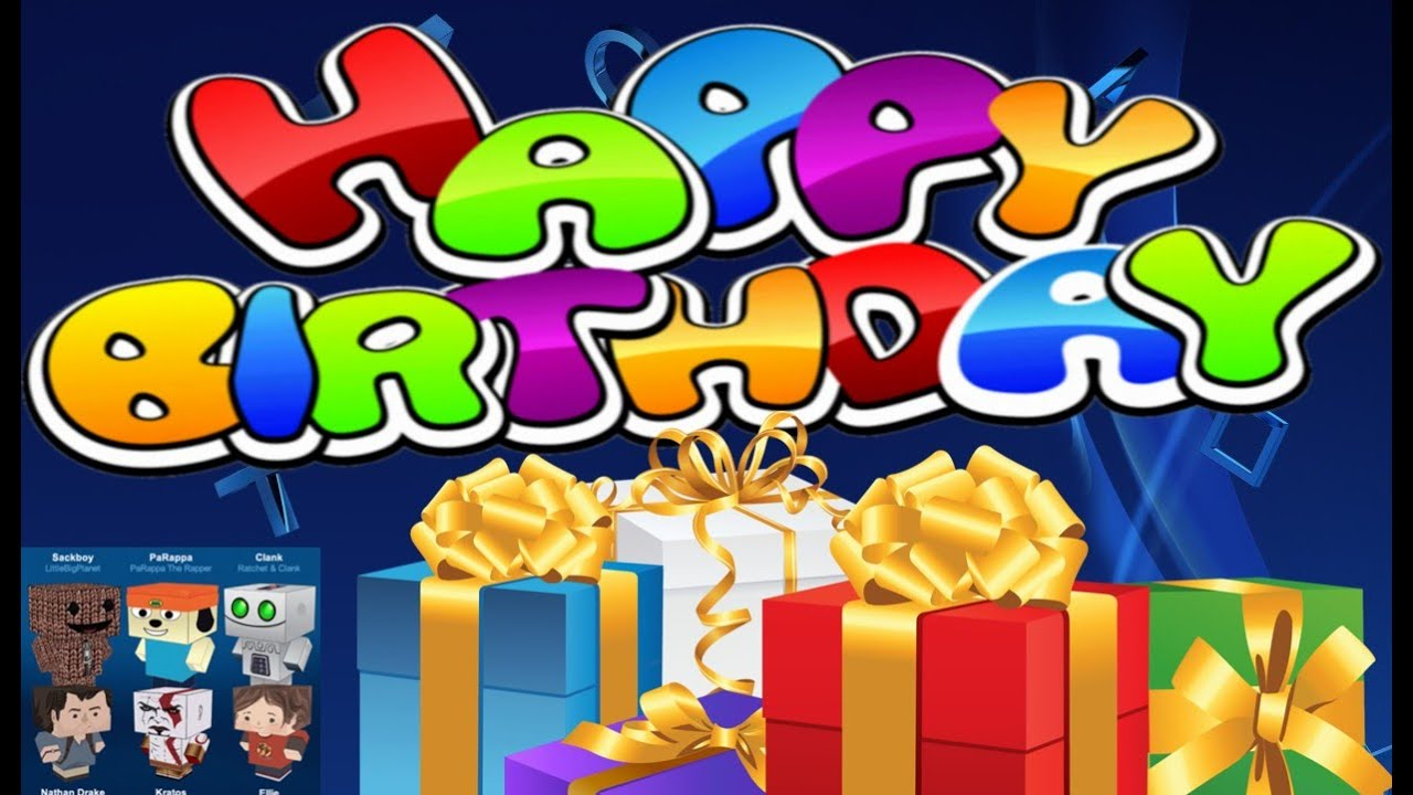 PlayStation Gamers Get A Birthday Gift