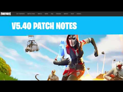 Fortnite Patch 5.4 Overview - New LTM And GRAPPLER!!