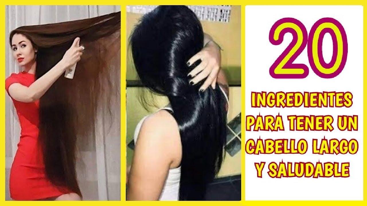 20 INGREDIENTES que tienes que tener en tu despensa para lograr un cabello largo y saludable!😘🧕