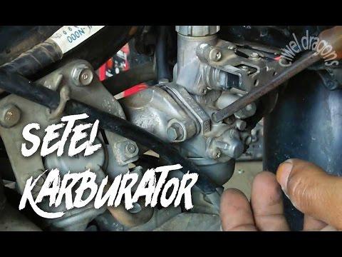 Cara Menyetel Karburator Motor 4 Tak