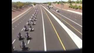 Funeral Procession for Detective John Hobbs