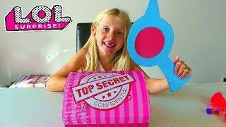 On Trouve une Boite LOL Surprise TOP SECRET