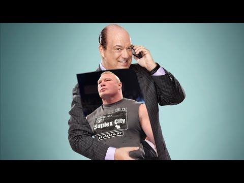 EXCLUSIVE! Paul Heyman Talks with Brock Lesnar on the Phone