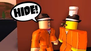 GETTING FOLLOWED BY COPS! (Roblox Jailbreak Roleplay)